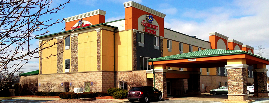Comfort Suites Hotel in Southgate Michigan